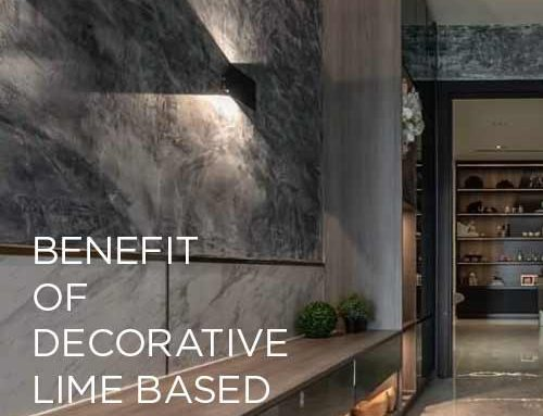 Be amazed of the benefits of decorative lime-based plaster !