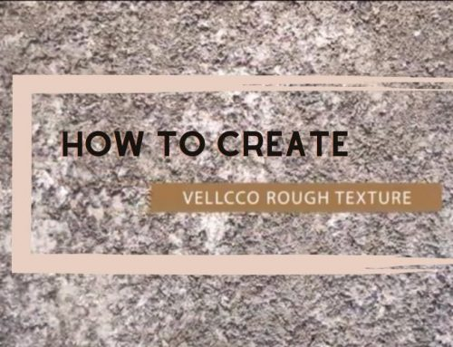 Tutorial #1 – How to apply Vellcco for rough sponge effect