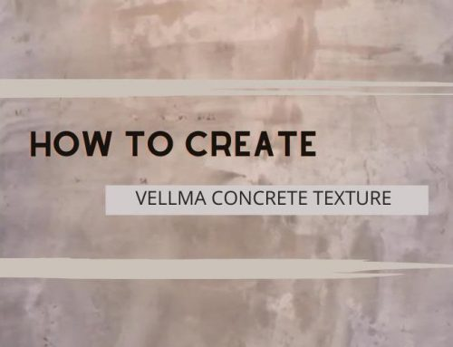 Tutorial #2 – How to apply Vellplas for Concrete Effect