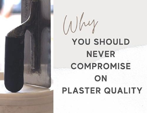 Why you should never compromise on lime plaster quality