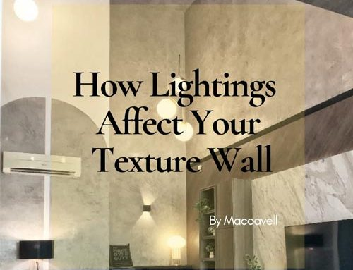 How Lightings Affect Your Texture Wall